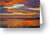 Bonnes Eyes Fine Art Photography Greeting Cards - Colorful Clouds Greeting Card by Bonnes Eyes Fine Art Photography