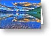 Western Canada Landscape Art Greeting Cards - Colors of Clouds Greeting Card by Scott Mahon