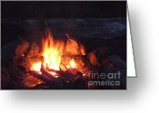 Janeen Wassink Searles Greeting Cards - Come on Baby Light My Fire Greeting Card by Janeen Wassink Searles
