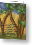 Rumi Greeting Cards - Come Whoever You Are Greeting Card by Linda Marcille