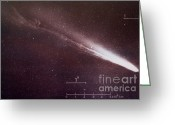 Long Period Comet Greeting Cards - Comet Kohoutek Greeting Card by Science Source