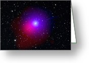 Periodic Greeting Cards - Comet Lulin Greeting Card by Swiftuniv. Of Leicesterdss (stsci, Aurua)bodewits Et Alnasa