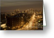 Richmond Greeting Cards - Coming or Going Greeting Card by Tim Wilson