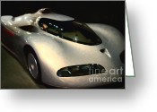 Vehicles Digital Art Greeting Cards - Concept Aerotech - Painterly - 7D17291 Greeting Card by Wingsdomain Art and Photography