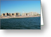 Amusement Park Greeting Cards - Coney Island, New York Greeting Card by Thepurpledoor