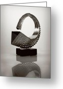 Sculptors Greeting Cards - Confusion Of Prism Greeting Card by Ilker Yardimci