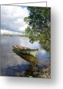 Galway Greeting Cards - Connemara Greeting Card by Alex Cassels