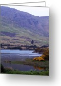 Ireland Greeting Cards - Connemara Leenane Ireland Greeting Card by Teresa Mucha