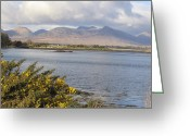 Co Galway Greeting Cards - Connemara Greeting Card by Rob Hemphill