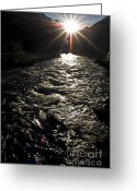 Light And Water Greeting Cards - Contraluz Greeting Card by Heiko Koehrer-Wagner