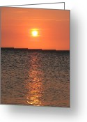 Taganga Greeting Cards - Conversation with the sun Greeting Card by Gal Moran