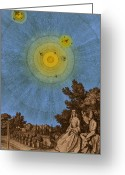 Marquise Greeting Cards - Conversations On The Plurality Greeting Card by Science Source