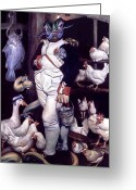 Napoleon Painting Greeting Cards - Coop dEtat Greeting Card by Patrick Anthony Pierson