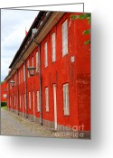 Compound Greeting Cards - Copenhagen Citadel Greeting Card by Sophie Vigneault