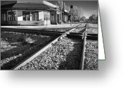 Crossroads Greeting Cards - Corinth Station Greeting Card by Harry H Hicklin