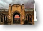 Architect Photo Greeting Cards - Cornell University Greeting Card by Steven  Michael
