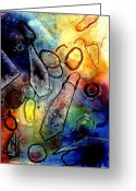 Artist Studio Greeting Cards - Cornucopia  II Greeting Card by John  Nolan