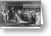 Coronation Greeting Cards - Coronation: Queen Victoria Greeting Card by Granger