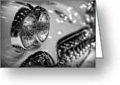 Big Block Chevy Greeting Cards - Corvette Bokeh Greeting Card by Gordon Dean II