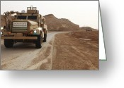 Armored Vehicles Greeting Cards - Cougar Armored Fighting Vehicles Greeting Card by Stocktrek Images