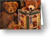 Stuffed Animals Greeting Cards - Countdown Greeting Card by Bonnie Bruno