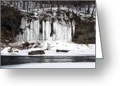 New York New York Com Greeting Cards - Country Ice Greeting Card by John Rizzuto