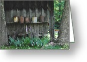 Jugs Greeting Cards - Country Jugs Greeting Card by Jost Houk