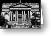 Classical Style Greeting Cards - County Sessions House Former Courthouse And Now Offices Of The National Museums William Brown Street Greeting Card by Joe Fox