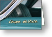 Antique Automobile Greeting Cards - Coupe deVille Greeting Card by Dennis Hedberg