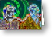 Husband Digital Art Greeting Cards - Couple Greeting Card by Randall Weidner