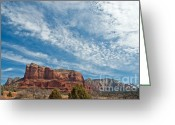 Butte Creek Greeting Cards - Courthouse Butte Greeting Card by Jim Chamberlain