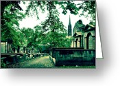 Churchyard Greeting Cards - Covenanters Prison Greeting Card by RicardMN Photography