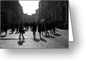 Johan Wahlstrom Greeting Cards - Covent Garden Greeting Card by Johan Wahlstrom