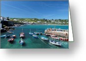 Kernow Greeting Cards - Coverack Greeting Card by Carl Whitfield