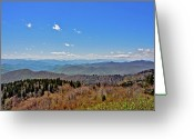 Cowee Greeting Cards - Cowee Grand Greeting Card by Donnie Smith