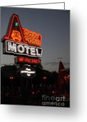California Adventure Park Greeting Cards - Cozy Cone Motel - Radiator Springs Cars Land - Disney California Adventure - 5D17742 Greeting Card by Wingsdomain Art and Photography