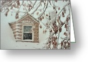 Safe Haven Greeting Cards - Cozy Cottage Greeting Card by JAMART Photography