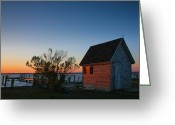 Shed Greeting Cards - Crab Shack III Greeting Card by Steven Ainsworth