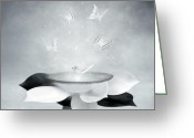 Spiritual Greeting Cards - Cradle Greeting Card by Photodream Art