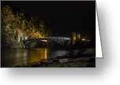 Scotland Greeting Cards - Craigellachie Bridge Greeting Card by Andy Stuart