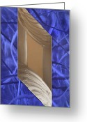 Textured Sculpture Greeting Cards - Crazy Greeting Card by Rick Roth