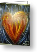 Christian Chapman Greeting Cards - Create In Me A Clean Heart Greeting Card by Kaylania Chapman