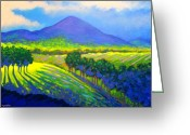 Landscape Framed Print Greeting Cards - Croagh Patrick County Mayo Greeting Card by John  Nolan