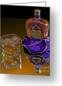 Convention Photography Atlanta Greeting Cards - Crown Royal on Ice Greeting Card by Corky Willis Atlanta Photography