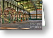 Central Jersey Greeting Cards - CRRNJ Terminal II Greeting Card by Clarence Holmes