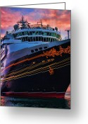 Key West Island Greeting Cards - Cruisin Greeting Card by Joetta West