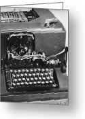 Typewriter Greeting Cards - Cryptography: Sigaba Greeting Card by Granger