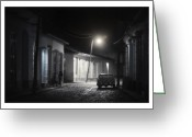 Artecco Digital Art Greeting Cards - Cuba 06 Greeting Card by Marco Hietberg