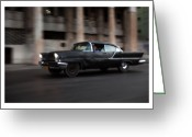 Car Photographs Greeting Cards - Cuba 07 Greeting Card by Marco Hietberg
