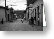 Old Street Photo Greeting Cards - Cuba Greeting Card by Ralf Kaiser